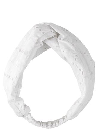ANGLAISE HAIRBAND - WHITE