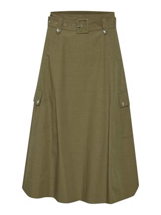 ADALINEGZ SKIRT - CAPERS