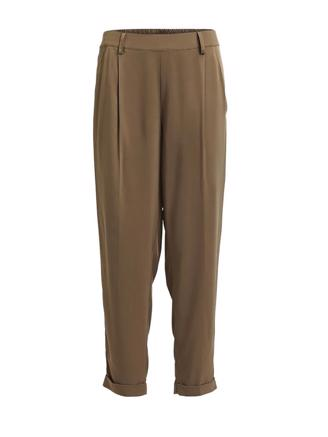 AGENO - SOLID PLEAT PANT - ARMY