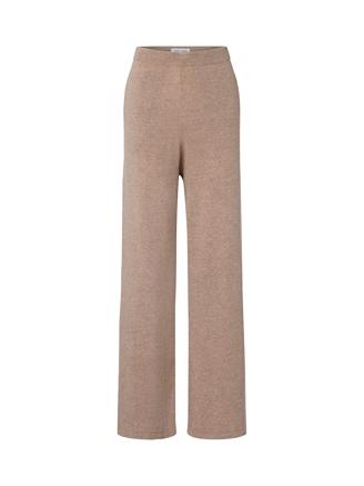 Amaris Straight Trousers 12758, Khaki Mel.