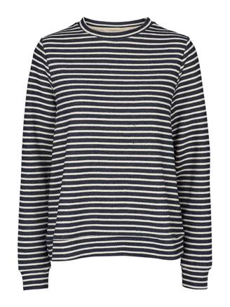 Vendela sweatshirt, Navy/Off White