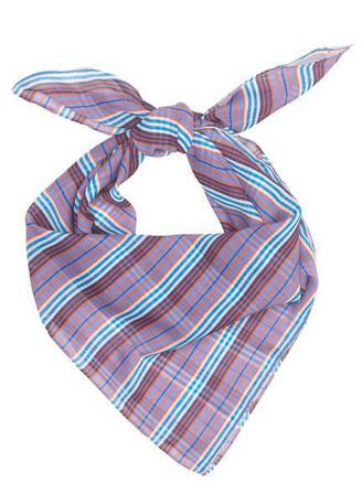 STRIA SCARF - BLUE