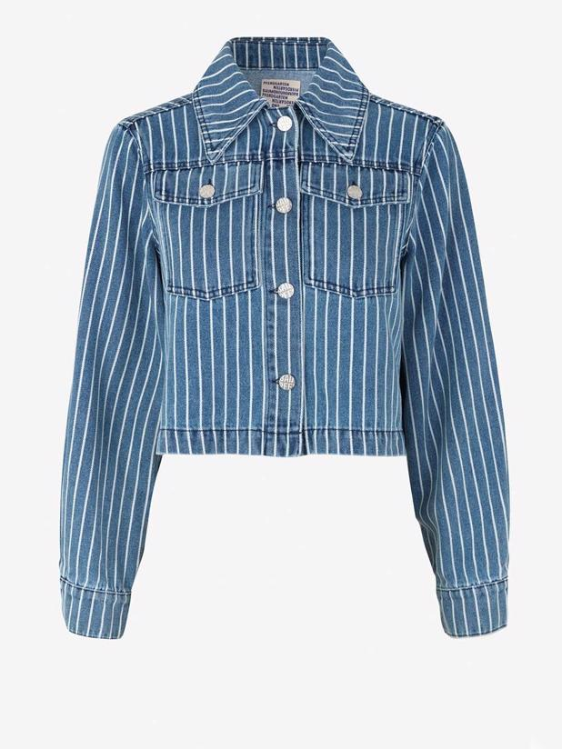 Benna 21333 - Blue Stripe Denim