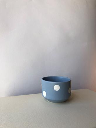 Blue Big Dot Cup