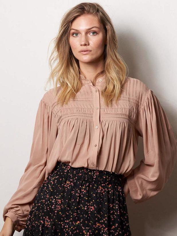 Cara Blouse - Dusty Rose