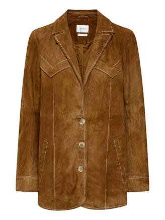 ELLIEGZ JACKET - TOFFEE