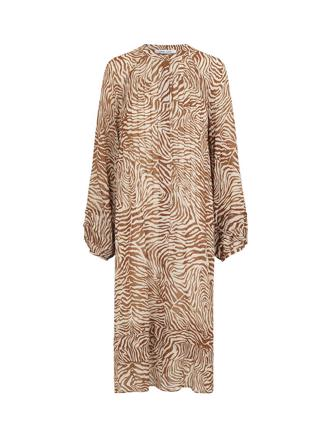 Elma shirt dress aop 9695, Mountain Zebra