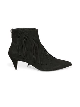 FRINGES BOOTS - BLACK