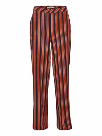 TILLYGZ PANTS - BLACK MULTI STRIPE