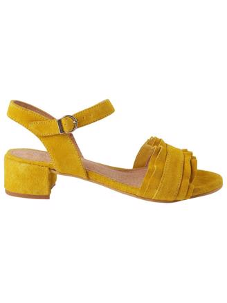 HOLLY - YELLOW SUEDE