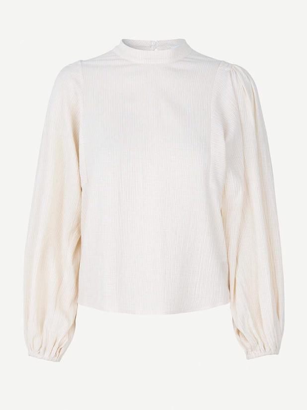 HARRIET BLOUSE 11238 - WARM WHITE CH