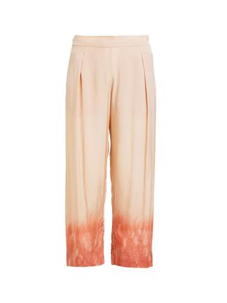 Holly, Freckled Cropped Pant, Sand Pink