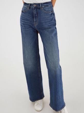 IhNorah NTI Flare Jeans, Medium Blue