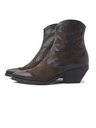 Jill Fate - Brown Ankle Boots