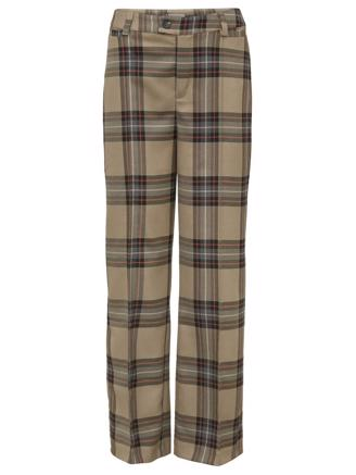 KAREN PANTS - BROWN CHECK