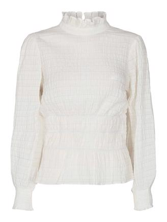 Kerry Smock Blouse - Off white