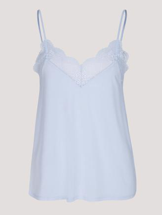 LINDA TOP - HALOGEN BLUE