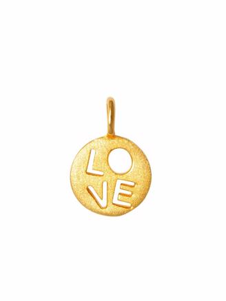 LOVE PENDANT - GOLD