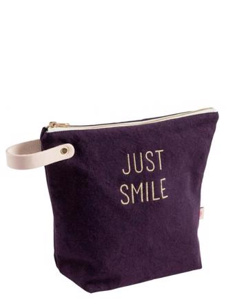 LC LARGE TOILETRY BAG - JUST SMILE