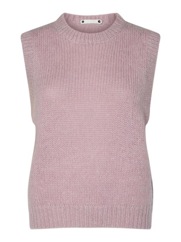 Leona Knit Vest, Nude Rose