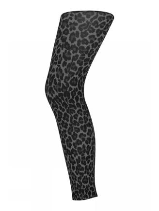 Leopard Footless, Antracite