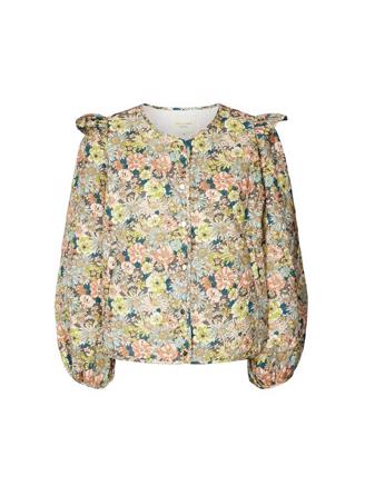 Lilly Jacket, Fower Print