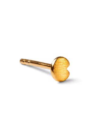 Lily Ørestik, Brushed Gold Plated