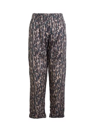 Lily, Wild Animal Pant, Green/Grey