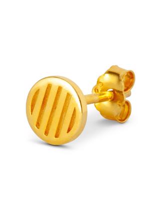 Lulu Copenhagen Lolly Small - Gold Plated