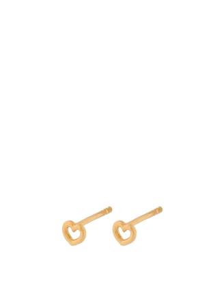 LOVE EARSTICKS 4MM E-384 - GULD