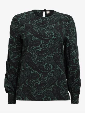MANDEEP - GREEN PAISLEY