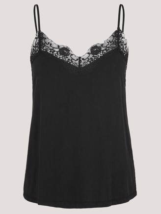 SLIP TOP 6202 - BLACK