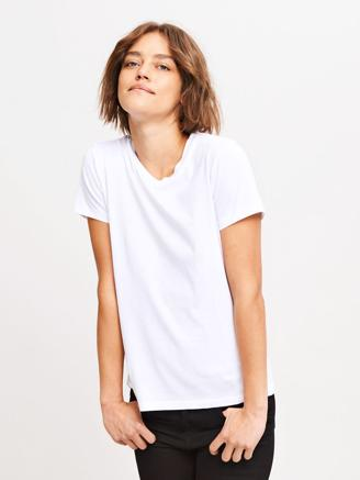 SOLLY TEE SOLID 205 - WHITE