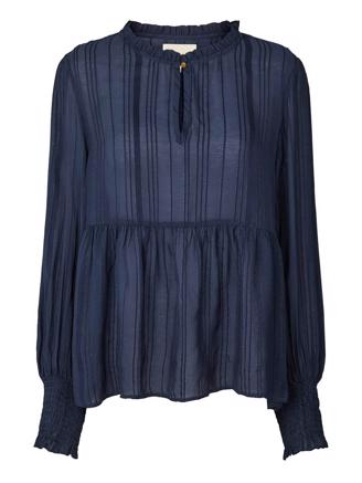 MAYA BLOUSE - DUSTY BLUE