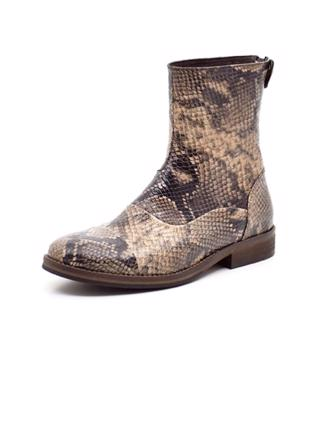 W8096 MENTOR BACK ZIP BOOT - SNAKE