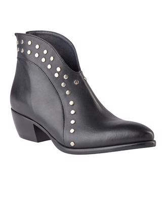 W8121 ANKLE BOOT - BLACK