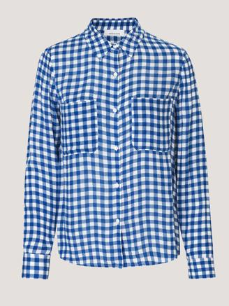 MILLY SHIRT - BLU CUBETTO