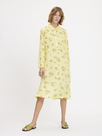MUSA SHIRT DRESS - YELLOW BREEZE