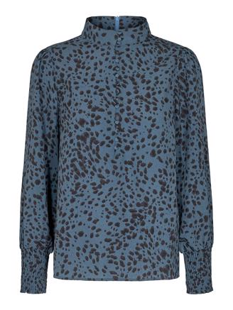 Madonna Spot Shirt, New Blue