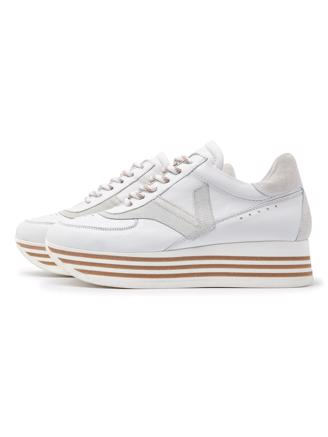MILA BOOST - WHITE SNEAKERS