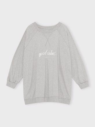 November Sweat Light Grey Melange, Light Grey Melange