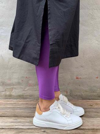 POW LEGGINS - LIGHT PURPLE