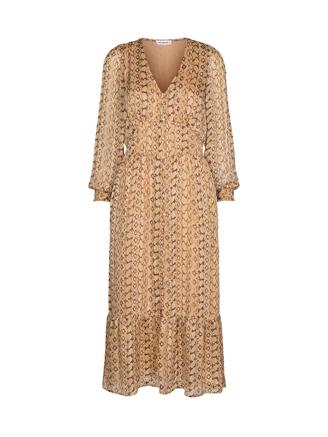 Python Dress, Dusty Yellow