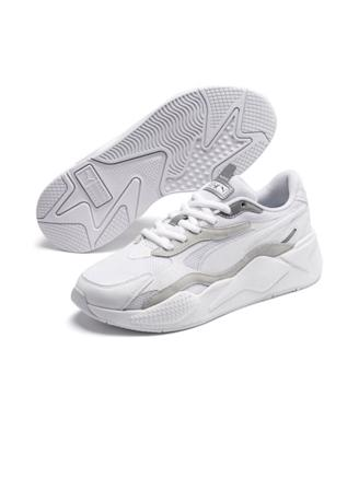 RS-X3 PUZZLE WN'S - WHITE/SILVER