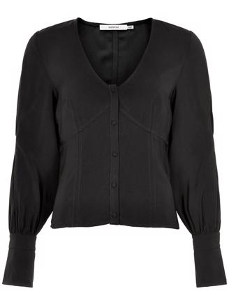 RUBINA SHIRT - BLACK