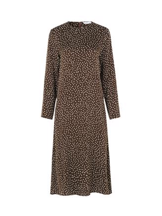 Rami dress aop 8325, Coffee Drops