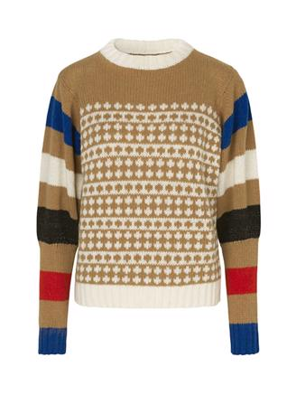 Recycled Iceland Konny - Beige/Multi