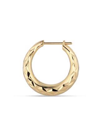 Reflection Rhombus Earring - Guld