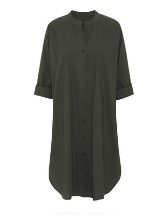 Remain Shirtdress Crisp - Olive Night