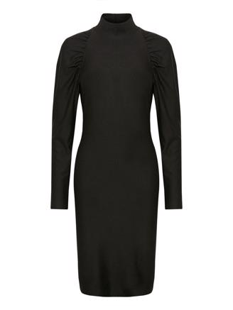 RIFAGZ SLIM DRESS - BLACK